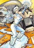 ICE / DC Comics The Women of Legend BASE Trading Card #21