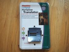 Franklin 5 Language European Translator Twe-118-03 German French Italian Spanish