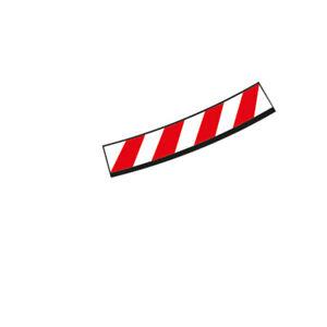 Carrera 20596 Inside shoulder high banked curve 4/15° (12), end piece (2)