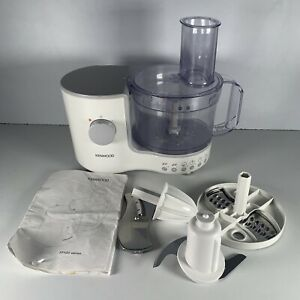 Kenwood Food Processor Appliance FP120 Series Working w/Accessories Manual