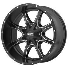 (4) 16x7 Moto Metal Wheels MO970 Black Milled Off Road Rims (S5)