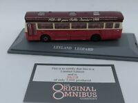 "CORGI ORIGINAL OMNIBUS 97905 DIECAST LEYLAND LEOPARD ""SAFEWAY"" - IN DISPLAY BOX"