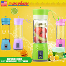380ml Healthy Juice Blender Mini Mixer Juicer Cup Travel USB Rechargeable Gift