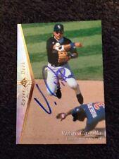 Vinny Castilla Signed Autographed Upper Deck Baseball Card-  Single Auto