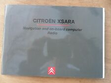 CITROEN Xsara navegación & Sistema De Audio Manual/MANUAL