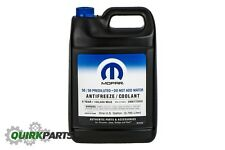 01-12 JEEP DODGE CHRYSLER RAM FIAT ENGINE COOLANT ANTIFREEZE OEM MOPAR GENUINE