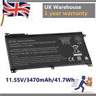 "BI03XL Battery Fr HP M3-U 13.3"" HSTNN-UB6W 915486-855 TPN-W118 41.7Wh New"