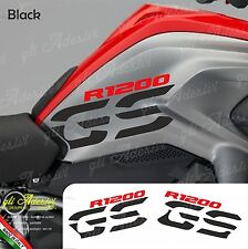 Set Stickers Side Tank Motorrad BMW R 1200 gs LC Black