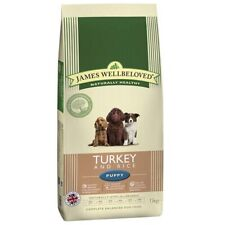 James Wellbeloved 15kg Turkey & Rice Natural Puppy Complete Dry Dog Food SPECIAL