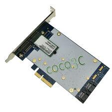 2 M.2 SSD + 2 SATA 3.0 PCI-e 4x RAID HyperDuo Card PCI Express to NGFF SATA 6Gb