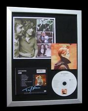 TONY VISCONTI+DAVID BOWIE+SIGNED+FRAMED+LOW+VISION=100% GENUINE+FAST+GLOBAL SHIP