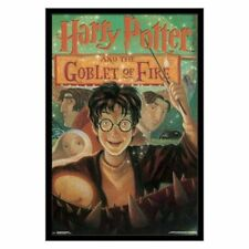 HARRY POTTER AND THE GOBLET OF FIRE BOOK COVER ART POSTER 24X36
