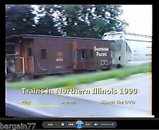 Railfan DVD Best of 1990-1 hour 18 min-SOO-CNW-BN+ more all seasons