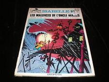 Will / Macherot / Franquin  Isabelle 3 Les maléfices de l'oncle Hermès couverte