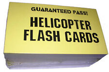 Guaranteed Pass Helicopter Flashcards NEW Pass the written/oral exam