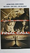 (W26) Presseinformation - FINAL CALL Kim Basinger / Jason Statham