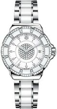 BRAND NEW TAG HEUER  FORMULA 1 WAH121D.BA0861 DIAMOND BEZEL WHITE CERAMIC WATCH