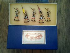 KING & COUNTRY GLOSSY HIGHLANDER BRIGADE COLOUR PARTY LE TO ONLY 1000 SETS