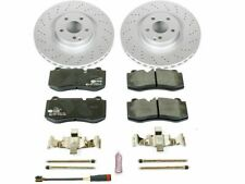 Front Brake Pad and Rotor Kit For S550 S600 SL550 CL550 CL600 S350 S400 ZR57C1