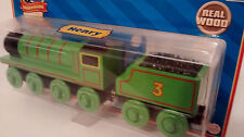 Thomas And Friends Wooden Railway Trains Retired  (Henry And Tender ) NIP 2007
