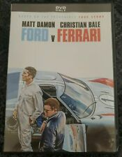 Ford Vs Ferrari (Dvd, 2020) Brand New - Free Shipping To The Us!