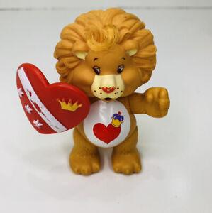 Kenner 1985 Care Bears Cousin Poseable Figure Brave Heart Lion W/ Shield Vintage