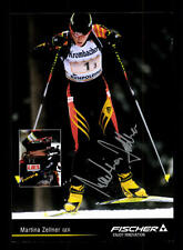 Martina Zellner Autogrammkarte Original Signiert Biathlon + A 168059