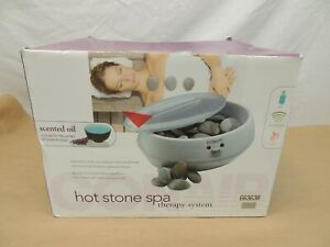 CONAIR HOT STONE SPA THERAPY SYSTEM HEATED ROCKS MASSAGE