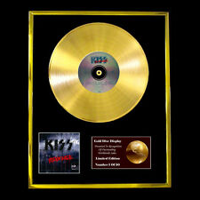 KISS REVENGE CD  GOLD DISC VINYL LP FREE SHIPPING TO U.K.