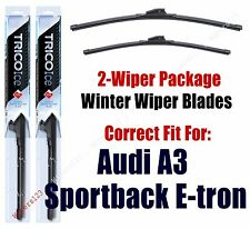 WINTER Wipers 2-pack fits 2016+ Audi A3 Sportback e-tron 35260/180