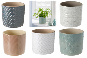 IKEA CHIAFRÖN Various Colours & Sizes patterned Plant pots  9cm/12 cm in/outdoor
