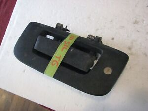07 08 09 10 11 12 13 Chevy Silverado Sierra Tailgate Handle Textured Rear OEM