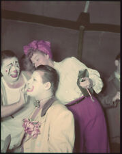 LUCILLE BALL Make Up Artist Jack Carson Ringling Brothers Original Transparency