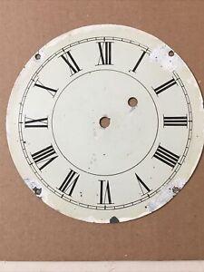 Antique Weight Driven Banjo Clock Dial Part