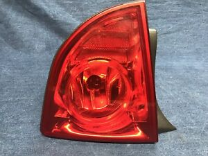 2009 2010 2011 2012 Chevy Malibu Left Side Outer Tail Light Lamp