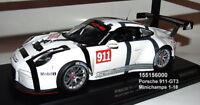 MINICHAMPS 155156000 -   Porsche 911 (991) GT3 R No.911 Presentation Car 1:18