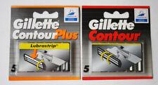 VHTF Gillette Contour Plus Set of 5 Blades