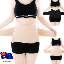 Womens Mens Tummy Trimmer Tuck Belt Girdle Body Shaper Waist Cincher Training BO