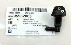 2012-2018 Chevrolet Sonic Windshield Washer Fluid Spray Jet Nozzle OEM 95962083