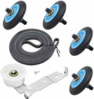 Clothes Dryer Repair Kit For Maytag MDE9700AYW MDG9700AWW Roller Belt Pulley photo