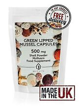 Green Lipped Mussel 500mg Powder 60 capsules