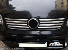 Listas cromadas parrilla VW T5 Transporter 03-09 chrome front grill trims