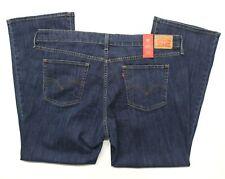 Women's Plus Levi's 415 Classic Bootcut Blue Jeans (236490005) Dark Wash - 20W S
