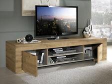 Mobile base porta tv moderno modello Milano rovere miele sala soggiorno salotto