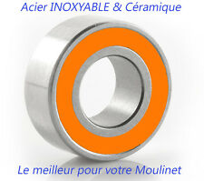 ROULEMENT A BILLES CERAMIQUE SI3N4 4X7X2.5 SMR 74 2RS INOX STAINLESS STEEL (1pc)