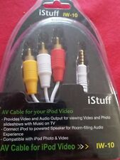 iStuff IW-10 AV Cable for ipod Video - NEW