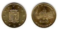 Aubenas, 1 euro, 1997 - Euros temporaires des villes