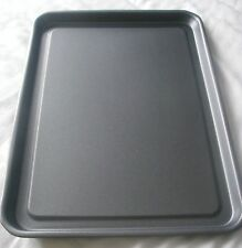 Heavy Duty Non Stick Baking Sheet Metal Large Biscuit oven Tray 43 x 31 x 2cm