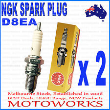 2 x NGK D8EA Spark Plug 200cc 250cc PIT PRO Trail Quad Dirt Bike ATV Buggy