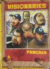 VISIONARIES Pangaea 2MEX OMD Beat Junkies ORIGINAL PROMO L.A. HIPHOP RAP POSTER